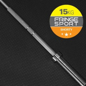 With the Fringe Sport Shorty Barbell, we've created the only barbell on the market that conforms (and performs) to standard 20kg barbell specs- but is over a foot shorter than a normal barbell.