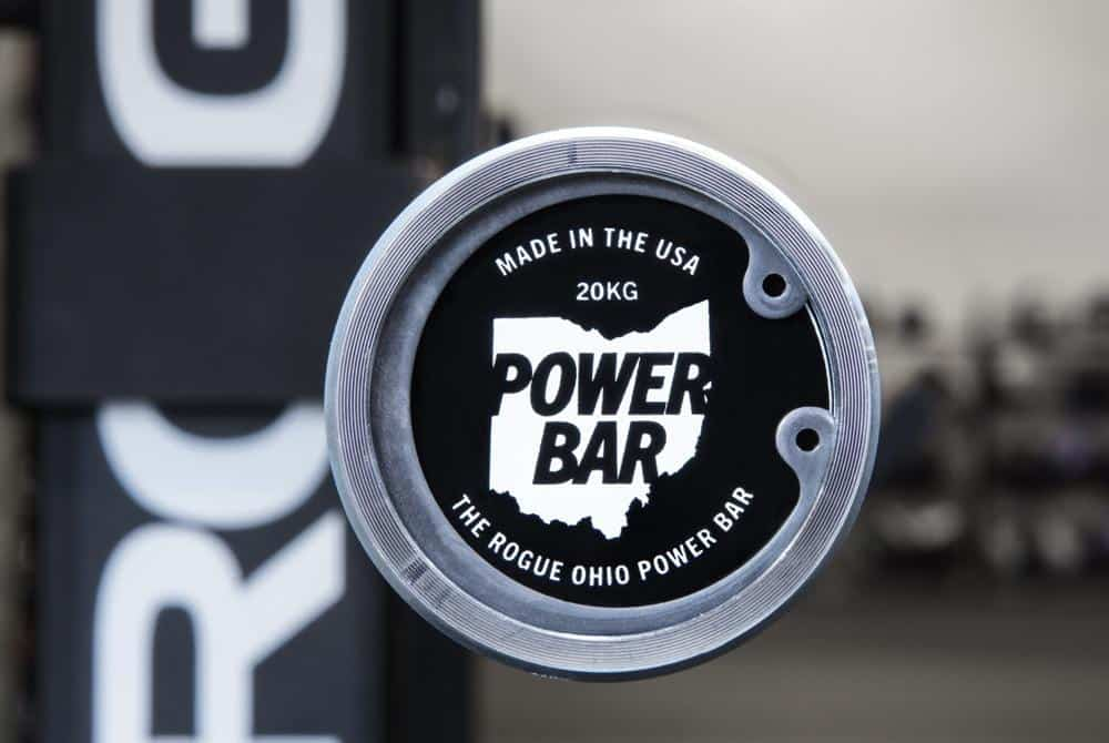 The Rogue Ohio Power Bar is available in a 20 kg version that is IPF legal for competition.