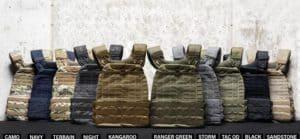 5.11 TacTec Plate Carrier Vest different colors