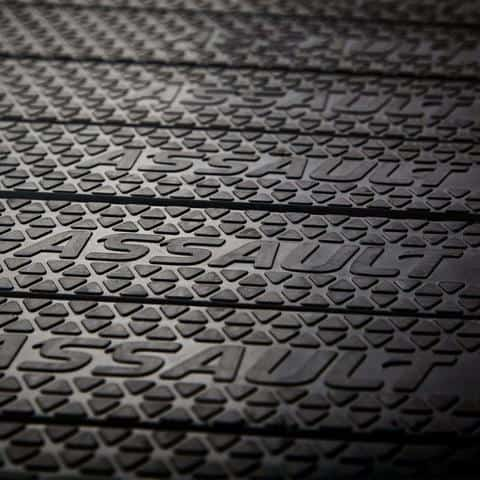 Close up of the running surface tread on the Assault Fitness AirRunner