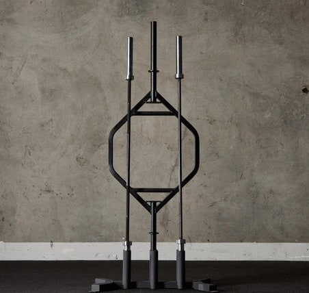 American Barbell 6 Bar Vertical Storage full view-crop