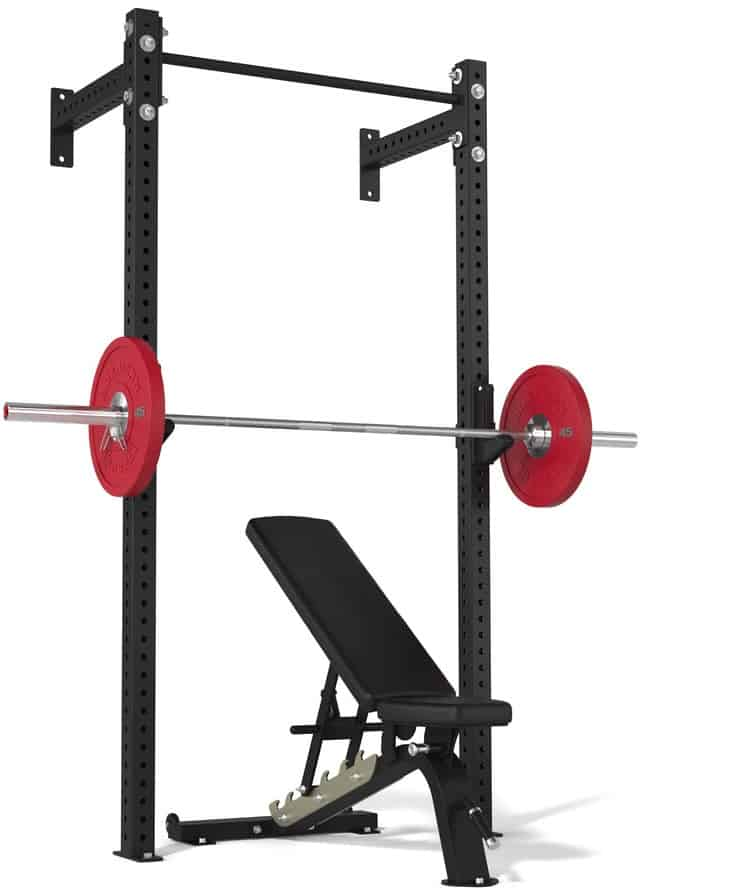 American Barbell Garage Gym Rack with barbell