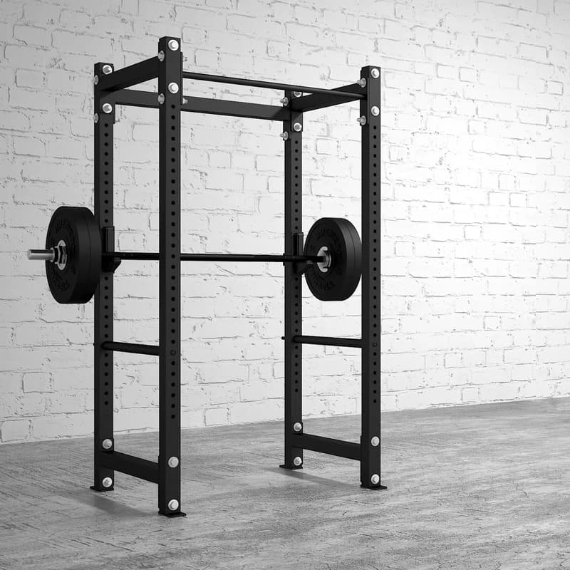American Barbell Rack 36 with a barbell