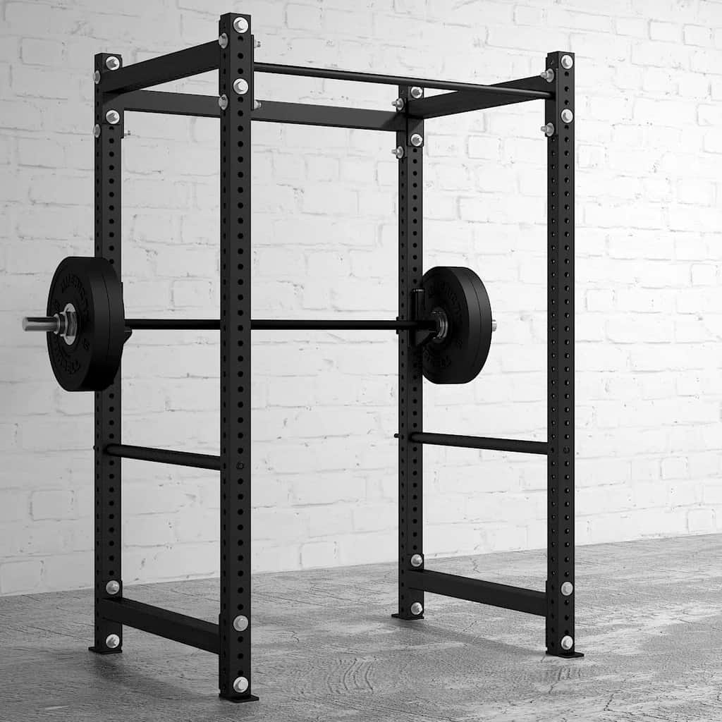 American Barbell Rack 48 with a barbell