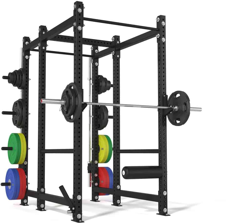 American Barbell Rack Package with barbells