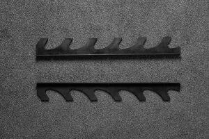 American Barbell Urethane Gun Rack full view