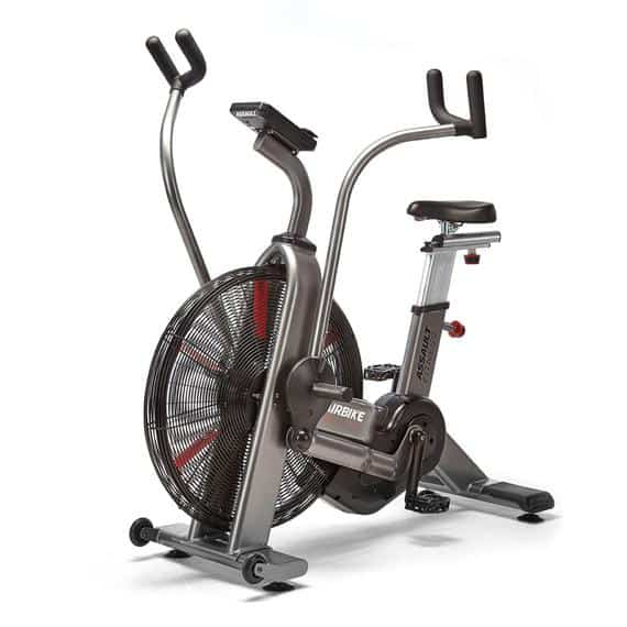 The Assault Fitness AirBike Elite - has just about every feature you want in the best fan bike.