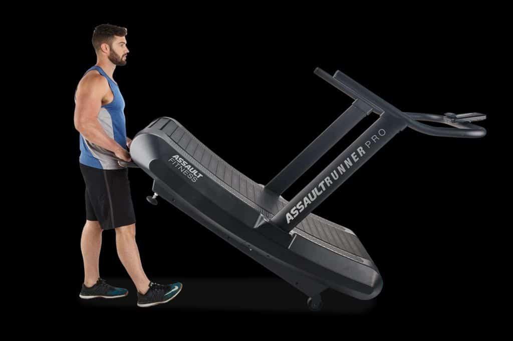 Assault Fitness AssaultRunner Pro with a user 1