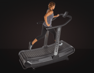 The Assault AirRunner Treadmill is an excellent version of the motorless treadmill. It can burn up to 30% more calories compared to a traditional motorized treadmill. It's curved shape is ideal for allowing good running form.