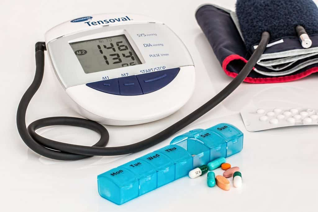 High Blood Pressure, or Hypertension, is a long term medical condition in which the blood pressure in the arteries is persistently elevated.