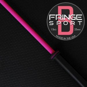 Fringe Sport sells the Women's Bomba V2 Barbell - also in super-tough Cerakote finish