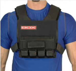 BOX weighted vests are designed for the gym. Perfect for CrossFit® training, P90X, INSANITY workouts, and any other fitness routine.