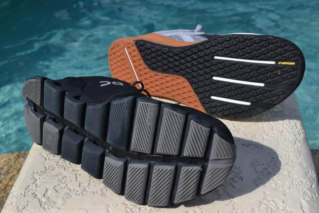 Cloud X Versus Reebok Nano X - Training Shoes - Sole to Sole 2