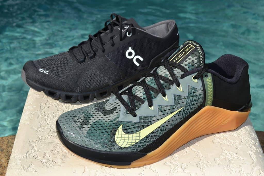 Cloud X Versus Nike Metcon 6 - Side by Side 3