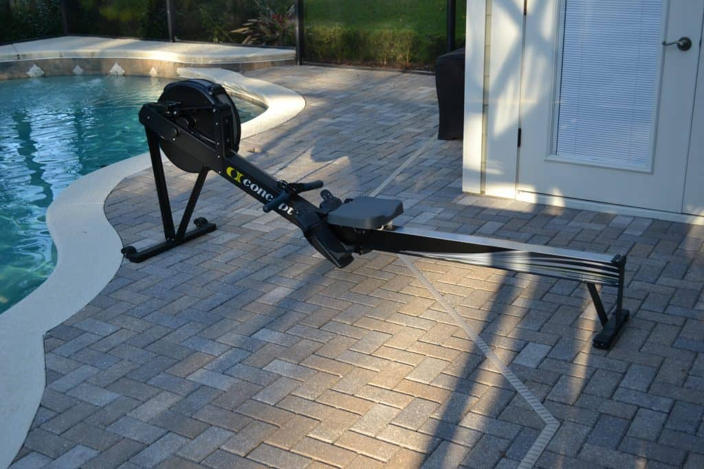 Concept 2 Model D Indoor Rower - from the shipping carton to fully assembled in less than 15 minutes.