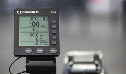 Concept 2 Model D Indoor Rower - This indoor rowing machines has the PM5 Performance Monitor Unit - keep track of key stats while you work out, such as Stroke Rate, Power output, calories burned, distance, and time.