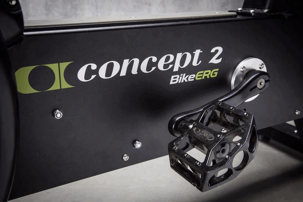 BikeErg pedals
