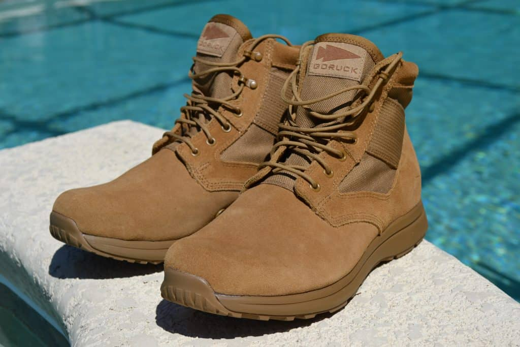 GORUCK MACV-1 Lightweight Boot in Coyote Suede (Gen 2)