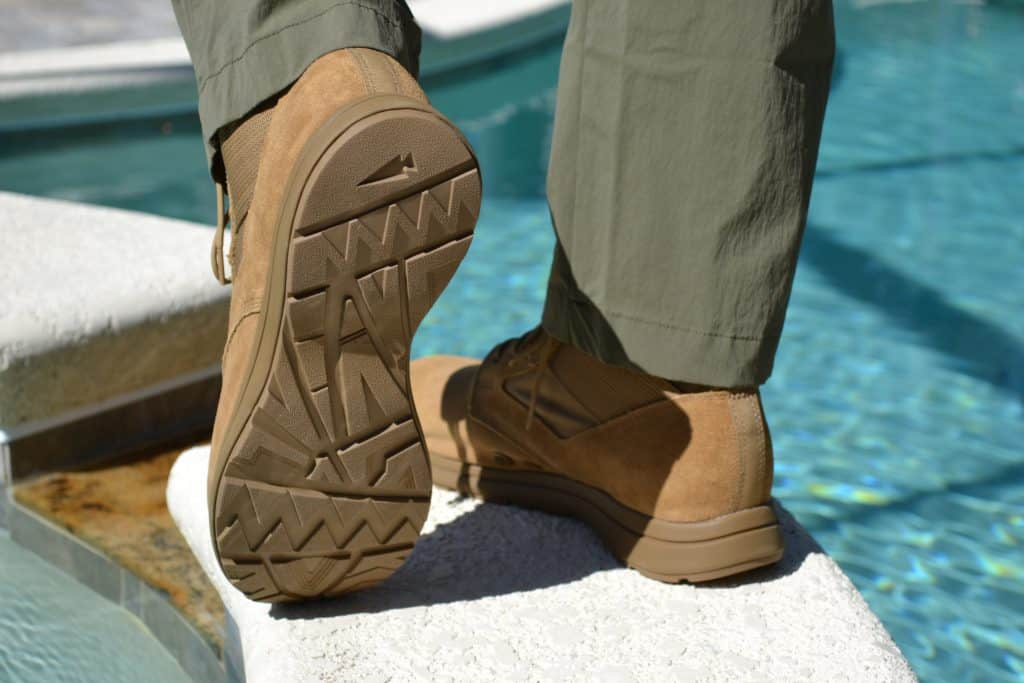 GORUCK MACV-1 Gen 2 Boot has an improved all-terrain outsole.