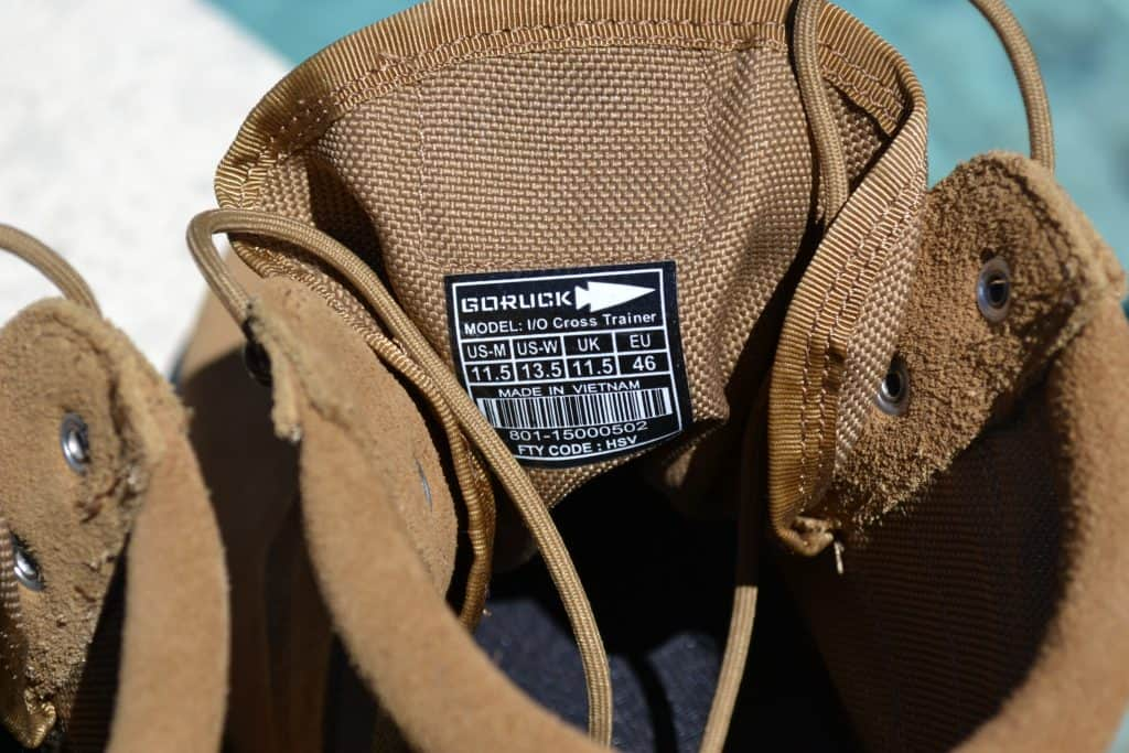 GORUCK MACV-1 Boot - Made in Vietnam
