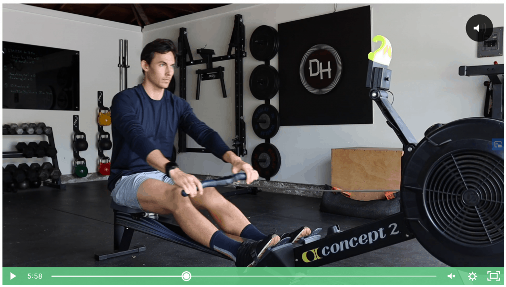 Dark Horse Rowing Launch Your Rowing Online Course Review - Screenshot