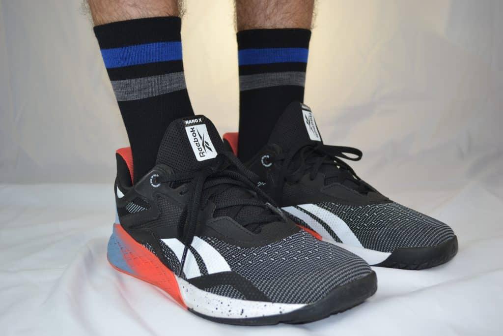 Darn Tough Vertex Micro Crew Ultra-Light Cushion - Running Sock with Nano X Cross Trainer