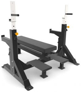 Force USA Commercial Heavy Duty IPF Spec Olympic Bench Press quarter right  view-crop