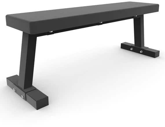 Force  USA Force USA Light Commercial Flat Bench quarter full view right-crop