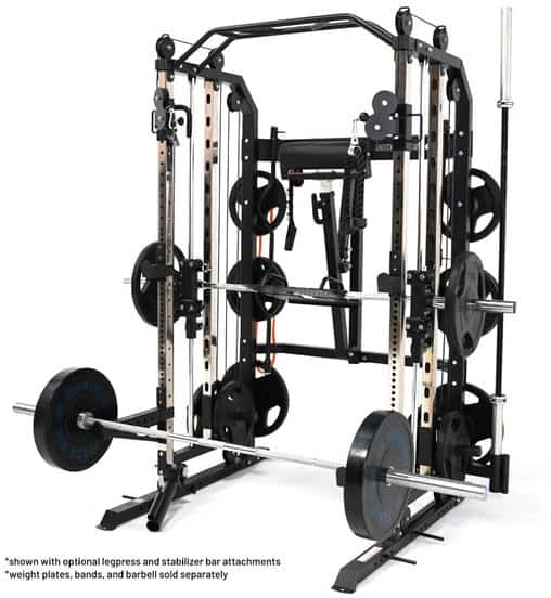 Force USA G3 All In One Trainer with leg press and stabilizer