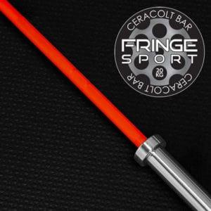 Fringe Sport 20kg Pumpkin Spice Barbell ceracolt