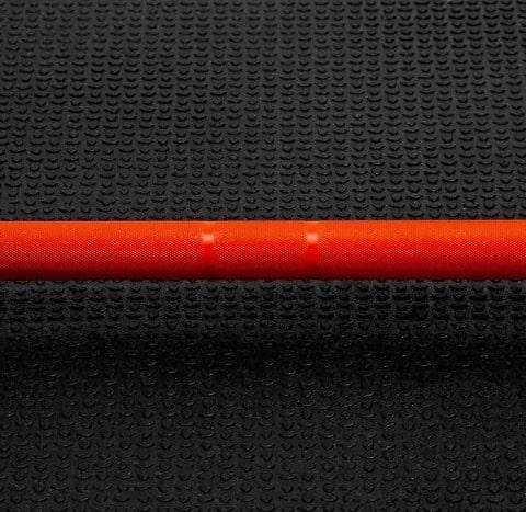 Fringe Sport 20kg Pumpkin Spice Barbell diameter
