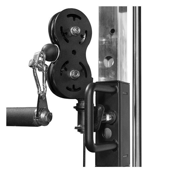 Pulleys on the G6 - these are a 2:1 ratio