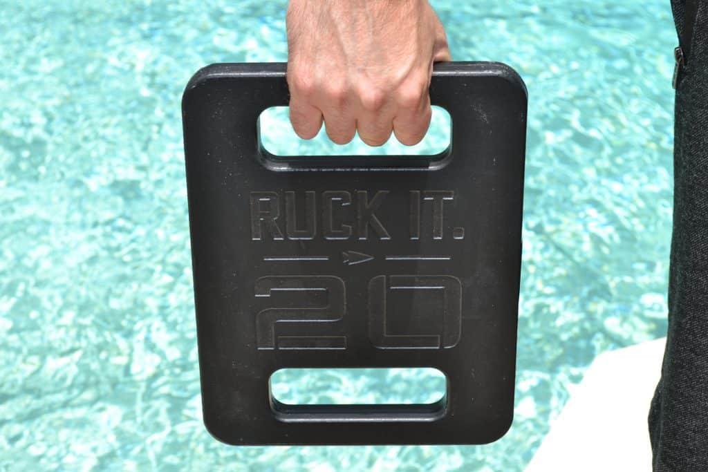 GORUCK Ruck plates have convenient grab handles.