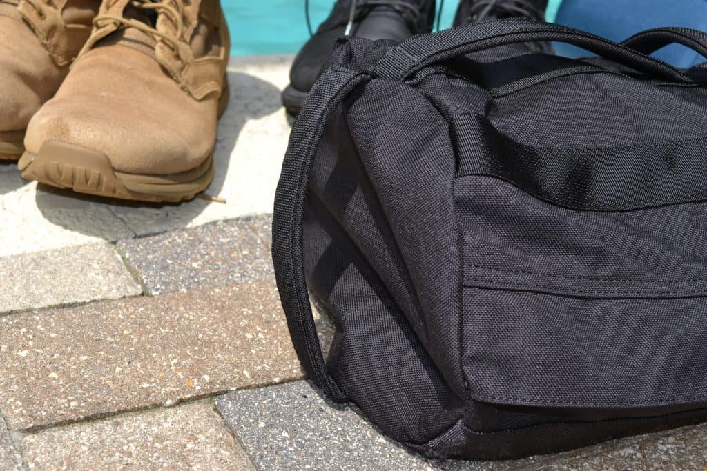 GORUCK Sandbag handles on the end