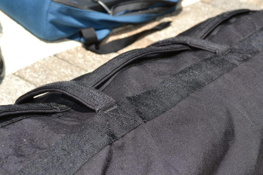 GORUCK Sandbag Handles on the top