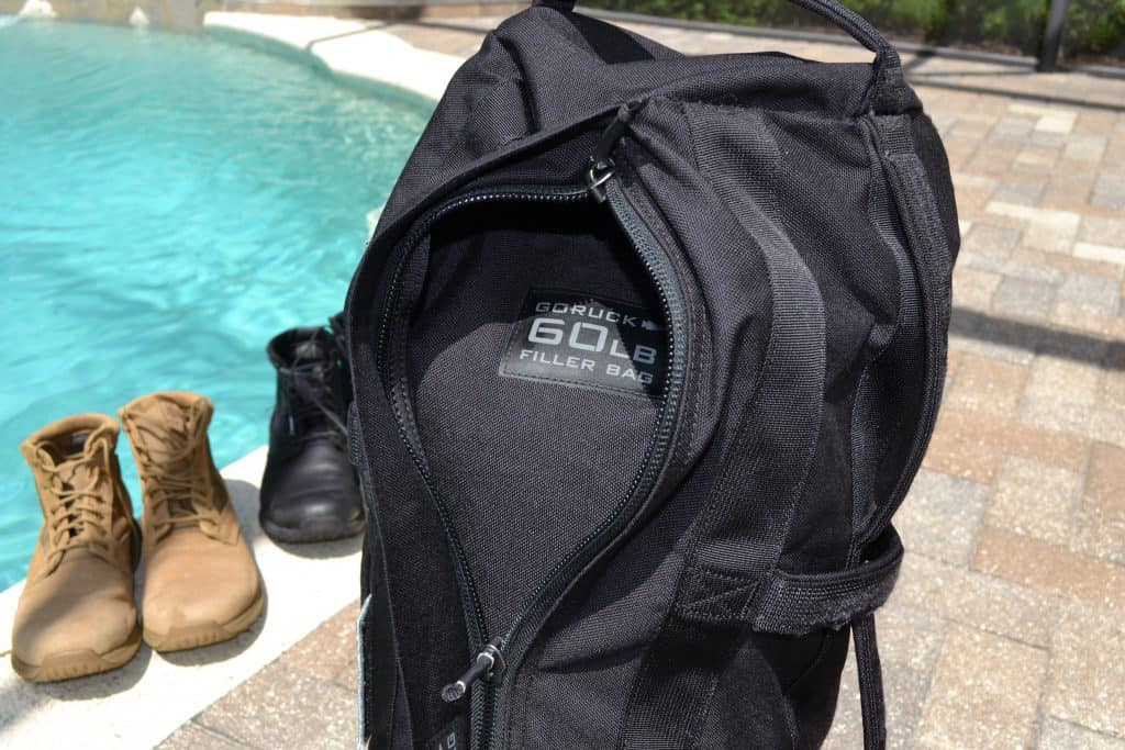 GORUCK Sandbag with filler bag inside