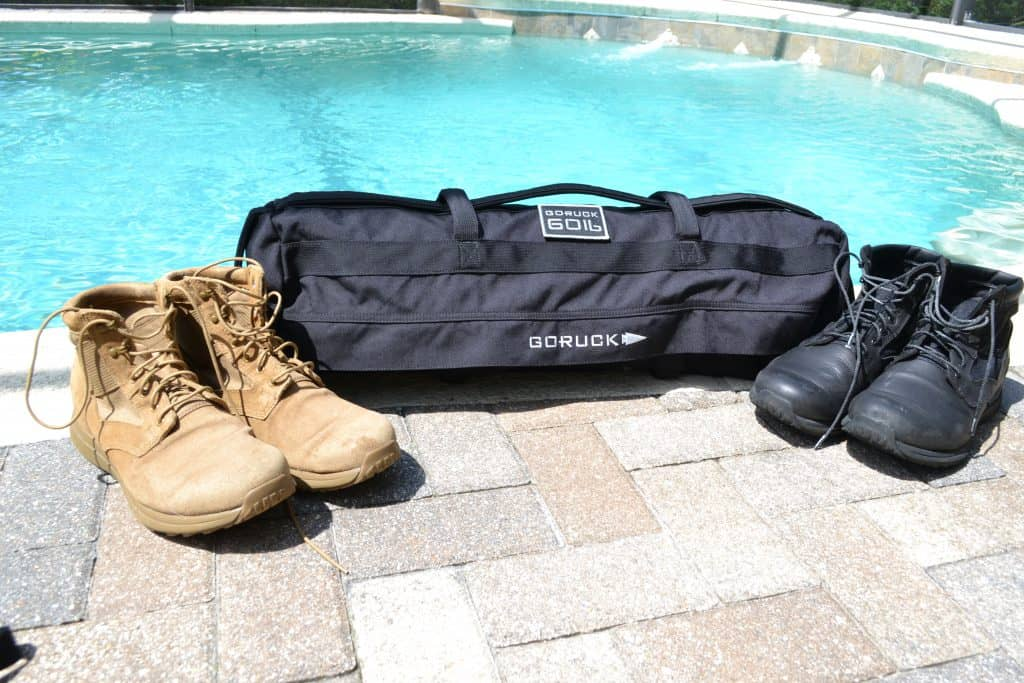 GORUCK Sandbag with MACV-1 boots