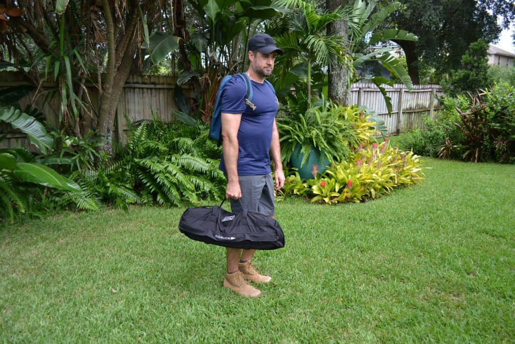 GORUCK Sandbag & Ruck Training Program - suitcase lift
