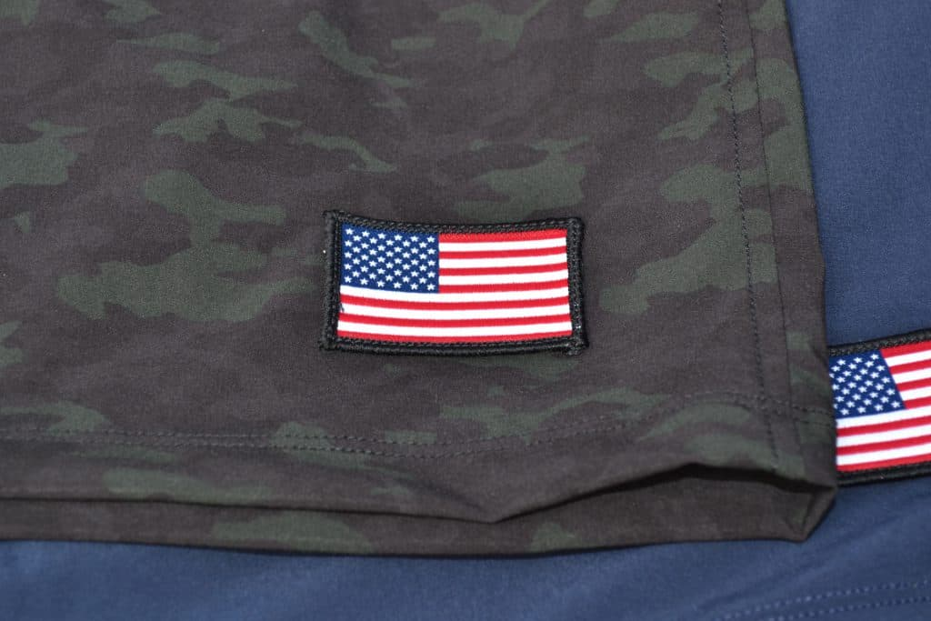 GORUCK American Training Shorts Navy and Camo Review (2)
