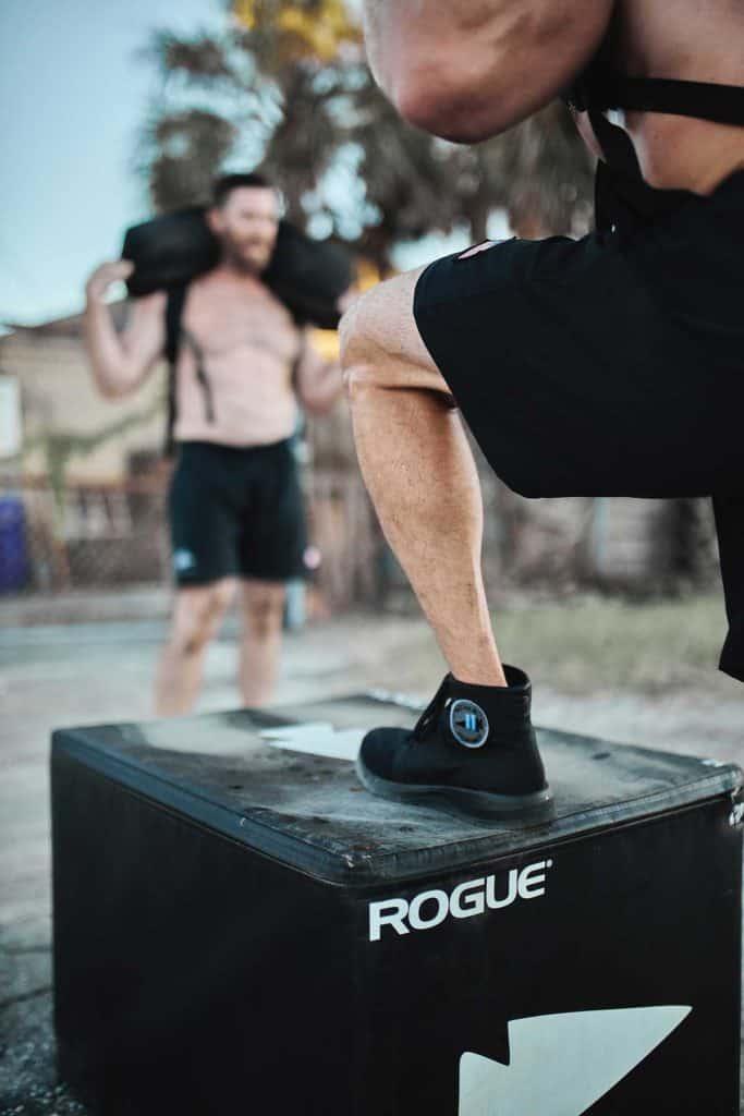 GORUCK Ballistic Trainers - Mid worn jump box