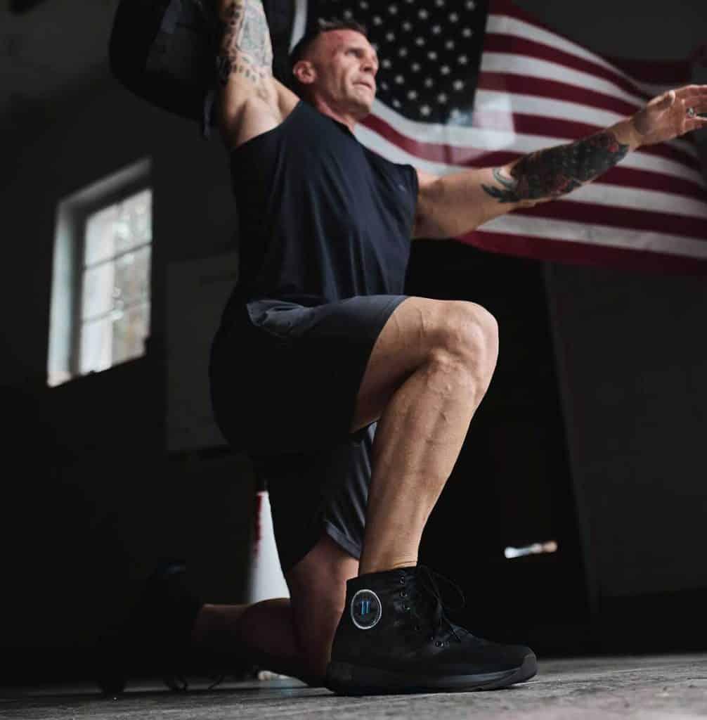 GORUCK Ballistic Trainers - Mid worn lunge