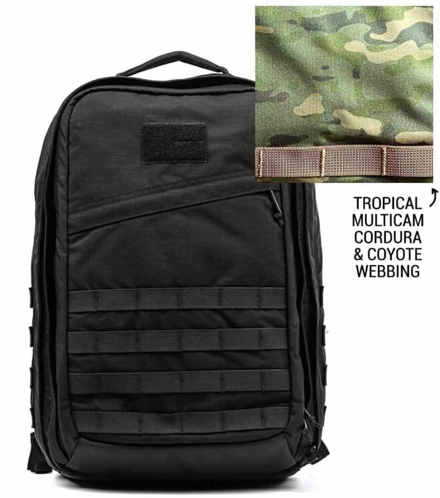 GORUCK GR2 Pre-order Tropical Multicam front