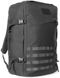 GORUCK GR3 with MOLLE front panel option