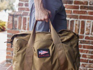 GORUCK Kit Bag Coyote Brown carried