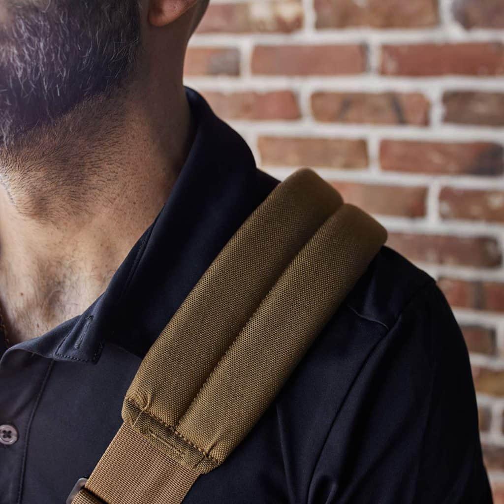 GORUCK Kit Bag Coyote Brown strap