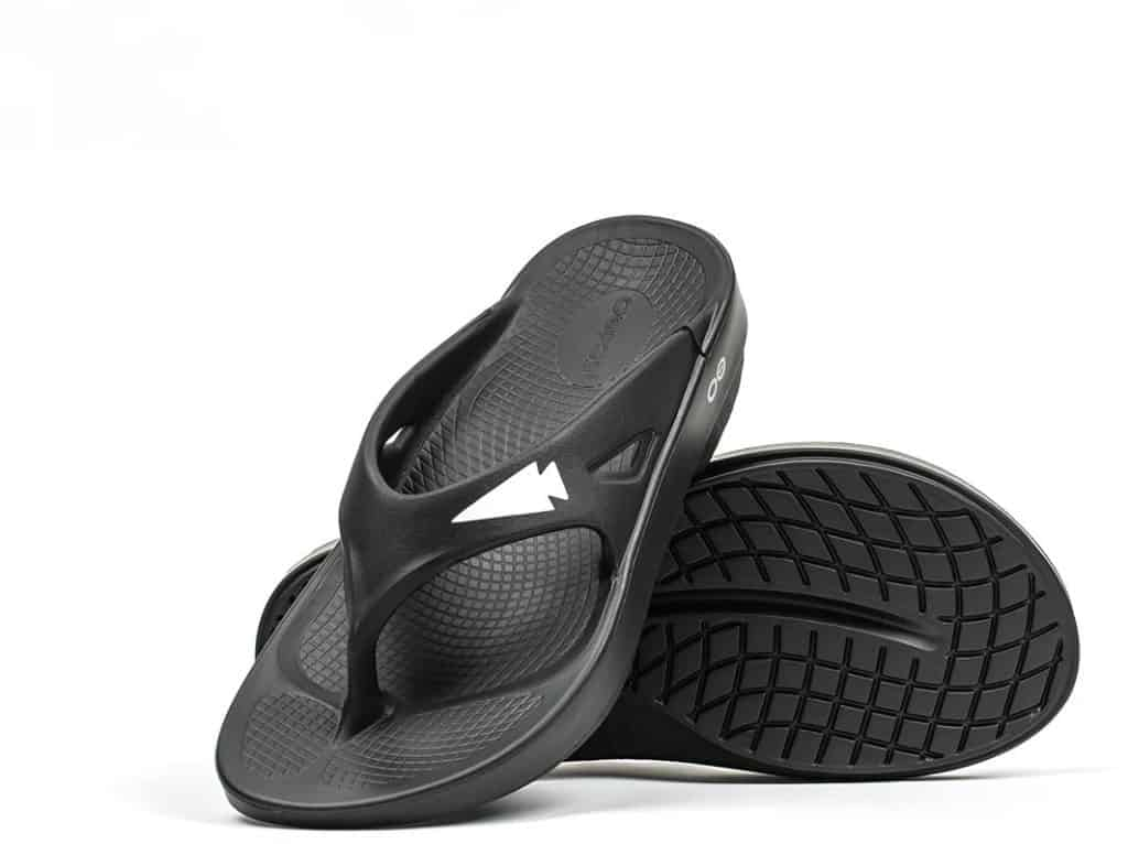 GORUCK OOFOS OOriginal Sandal pair