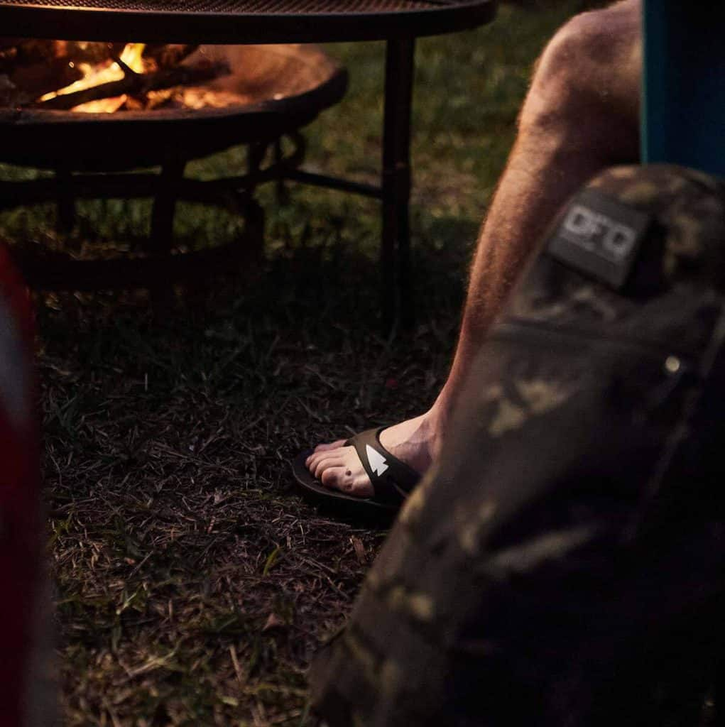 GORUCK OOFOS OOriginal Sandal worn 2