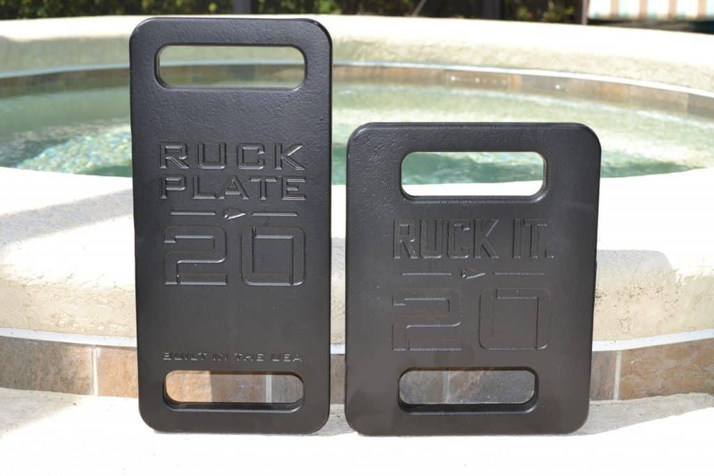 GORUCK Standard Plate vs Expert Plate - 20 lb