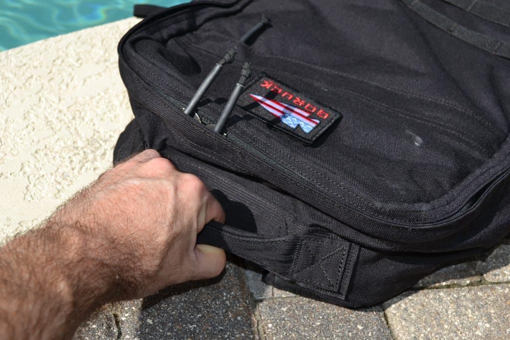 GORUCK Rucker Review - Top Handle Grip
