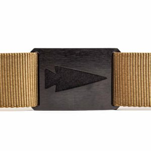 GORUCK Spearhead Tactical Belt Coyote - Etched full view